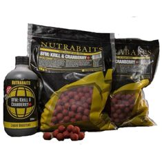 Nutrabaits Boilies BFM Krill&Cranberry