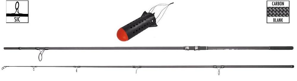 Pelzer Prut Bondage Spod Rod 3,66 m (12 ft) 5 lb