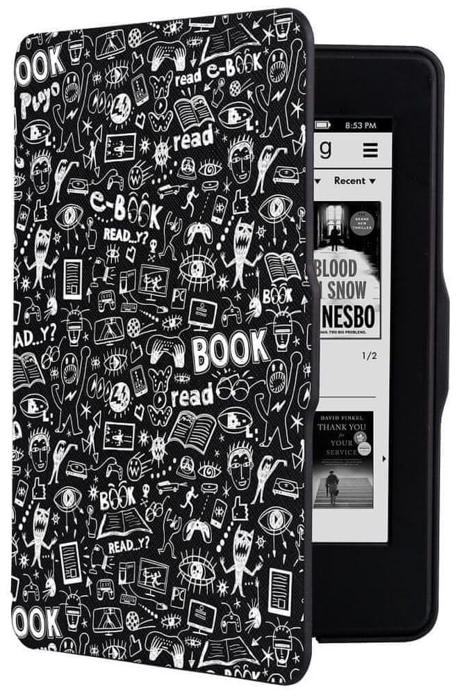 Connect IT Doodle pouzdro pro Amazon Kindle Paperwhite, černé