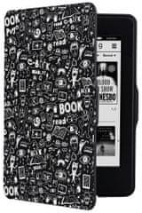 Connect IT Doodle puzdro pre Amazon Kindle Paperwhite, biele