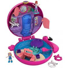 Mattel lalka Polly Pocket - kieszonkowy świat: flaming