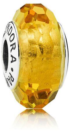 Pandora Szklany koralik wykonany z ciętego szkła 791629 srebro 925/1000