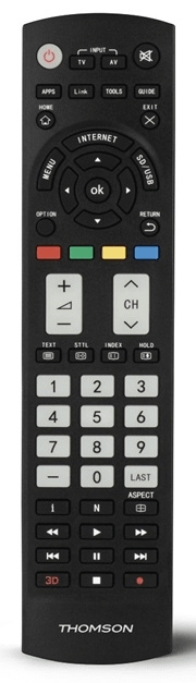 Thomson ROC1128PAN univerzální ovladač pro TV Panasonic