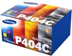 Samsung komplet tonerjev cyan magenta rumen za CLP415/CLX4 za 1000 strani in črn za 1500 strani (CLT-P404C/ELS)