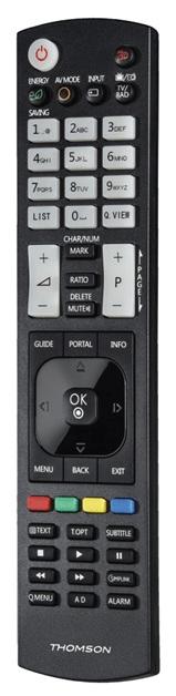 Thomson ROC1128LG univerzální ovladač pro TV LG