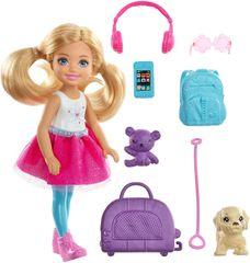 Mattel Barbie Chelsea cestovatelka