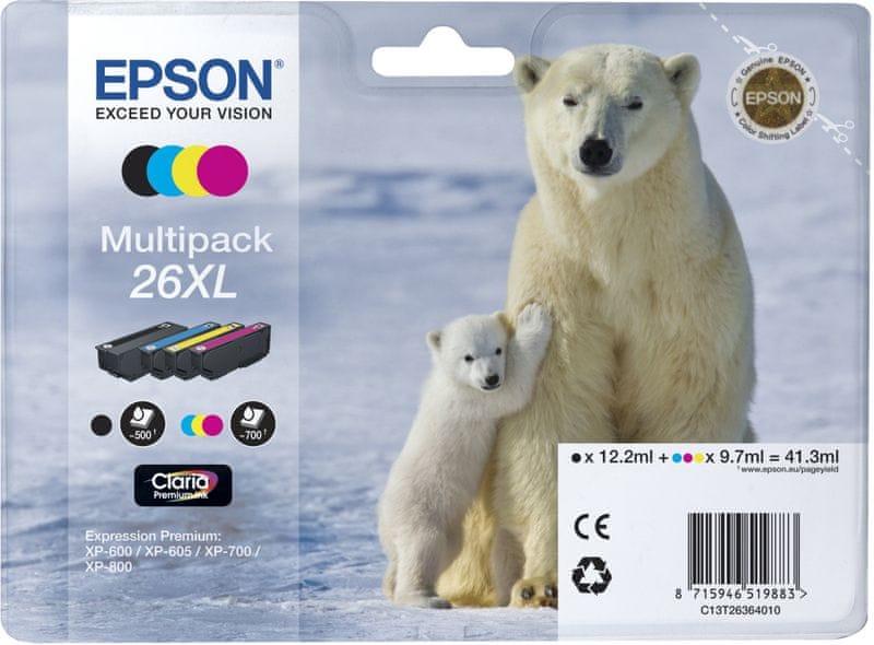 Epson 26XL Multipack (C13T26364010)