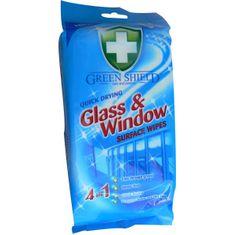 Greenshield úklidové ubrousky na okna, 50 ks