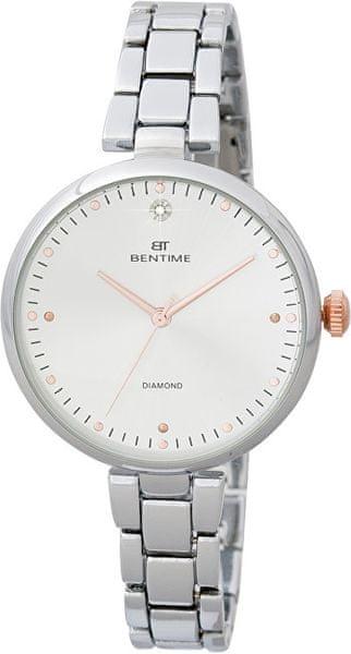 3c2bfd5ca9a Bentime Dámské hodinky s diamantem 027-9MB-PT12103C