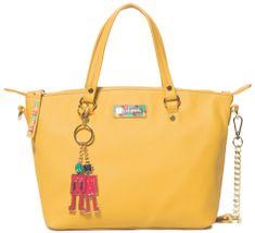 Desigual žlutá kabelka Bols Colorama Gela