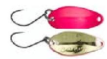 GUNKI Blyskáč Plandavka Slide Pink Gold 2,5 cm