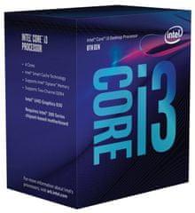 Intel procesor i3-8100 BOX, Coffee Lake