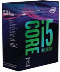 Intel procesor i5-8600K BOX, Coffee Lake