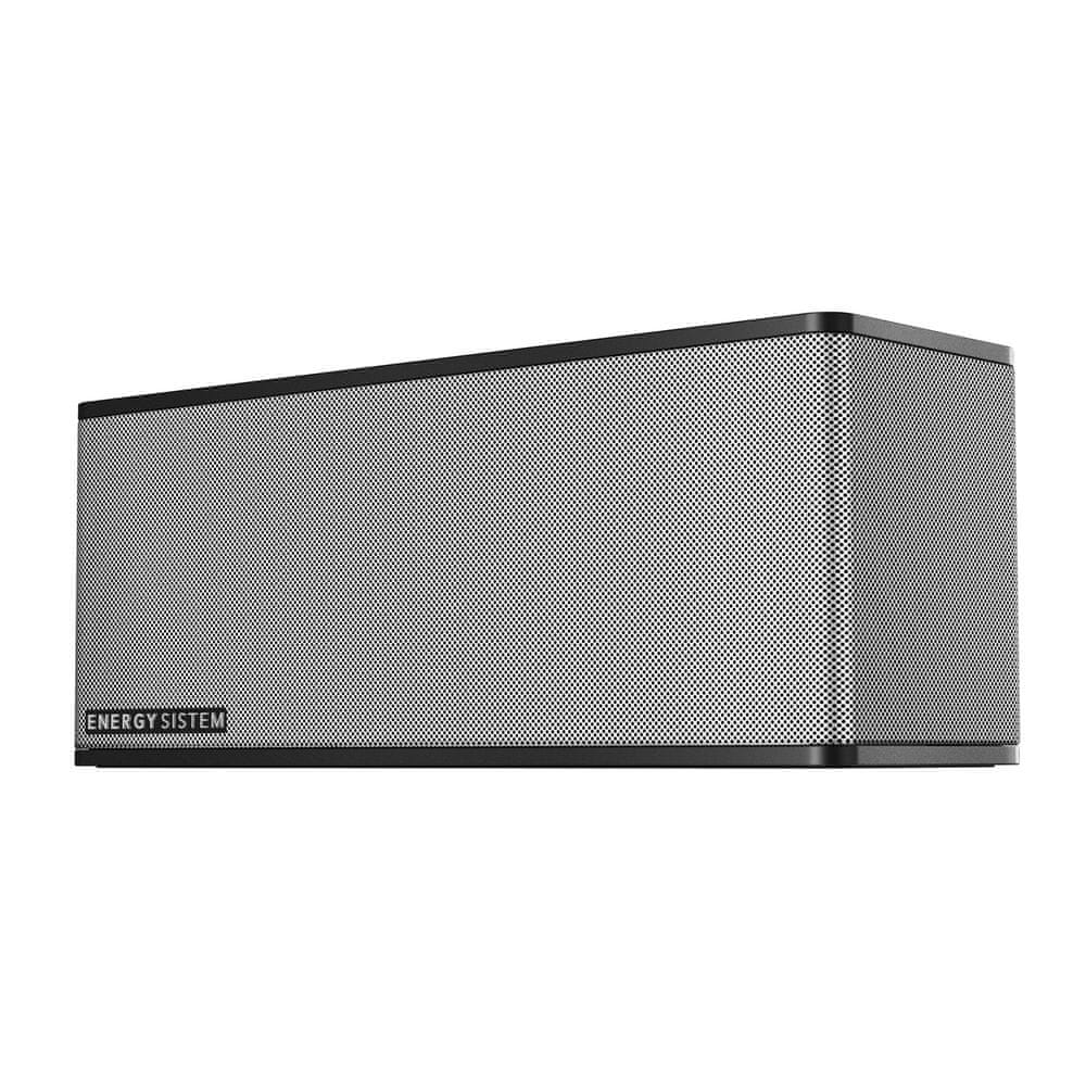 Energy Sistem Music Box 7+ přenosný reproduktor, černá/stříbrná