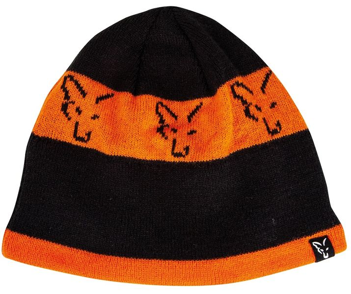 Fox Čepice Black Orange Beanie