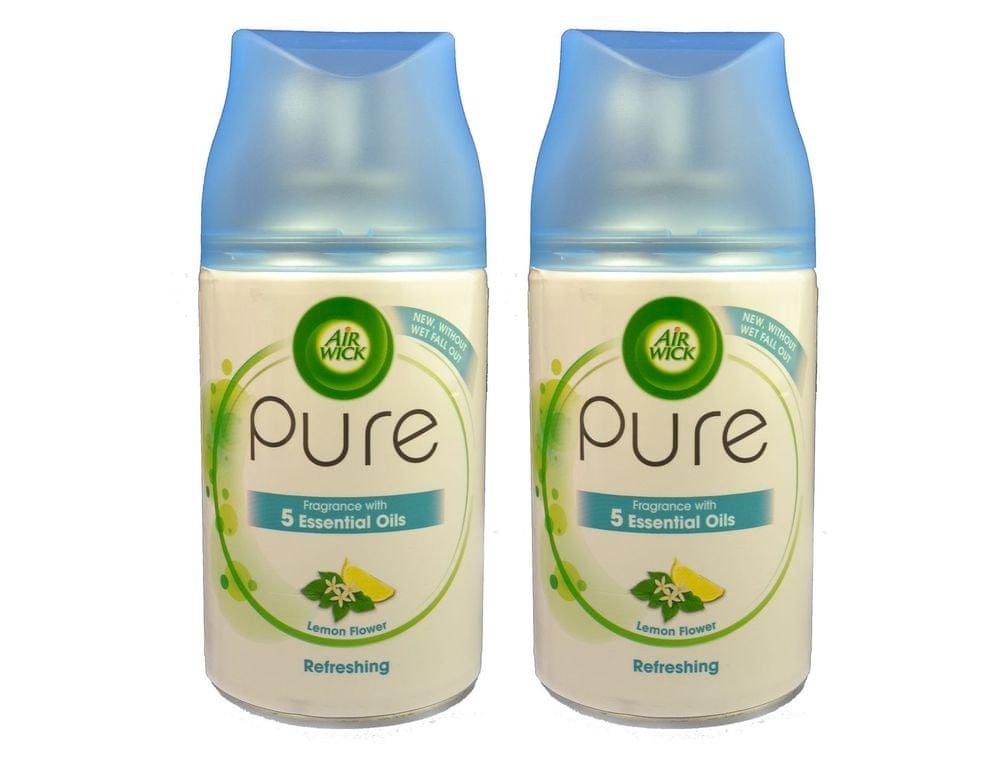 Air wick Freshmatic 2 × 250ml Pure - Citronový květ