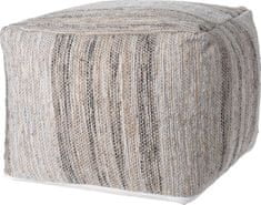 Marex Trade Taburet 45 x 35 cm z jutové bavlny