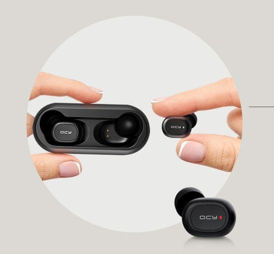 QCY T1C bezdrátová sluchátka