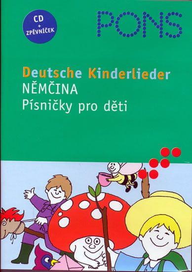 Němčina - Písničky pro děti - CD + zpěvníček