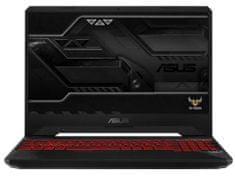 Asus prenosnik TUF Gaming FX505GD-BQ129 i7-8750H/16GB/SSD256GB/GTX1050/15,6FHD/FreeDOS (90NR00T2-M02270)