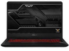 Asus prenosnik TUF Gaming FX705GD-EW105 i7-8750H/8GB/SSD256GB+1TB/GTX1050/17,3FHD/FreeDOS (90NR0112-M02530)