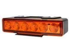 WAS Výstražné světlo oranžové, LED, 7-funkcí (W117)
