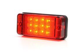 WAS Mlhové světlo W83D červené sklo (700kr) LED