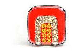 WAS Sdružené světlo W146(1090),3-funkce,kabel,LED