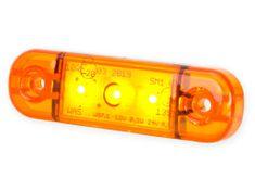 WAS Poziční světlo W97.1 (708) boční, oranžové LED