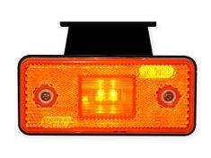 WAS Poziční světlo W17D (101KZ) boční oranžové, LED