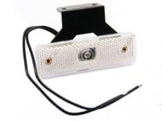 WAS Poziční světlo W44 (219Z) přední bílé LED, držák