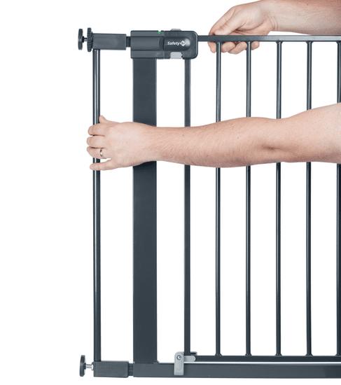 Safety 1st Rozšíření zábrany Easy Close Metal 7 cm, černá
