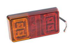 Sdružené světlo LED bez SPZ, 150x60 mm, 12/24 V