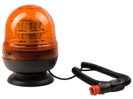 VAPOL CZ Maják oranžový LED magnet - 12/24 V