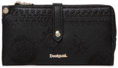 Desigual dámská černá peněženka Mone Dark Amber Ester