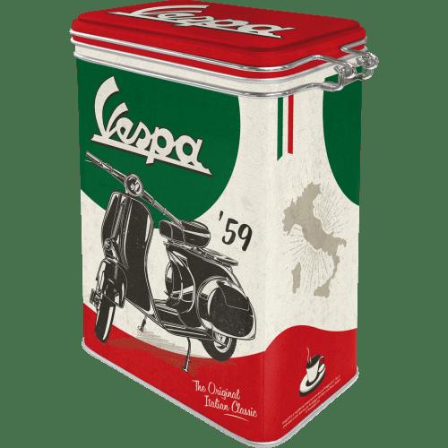 Postershop posoda s sponko Vespa (The Italian Classic)
