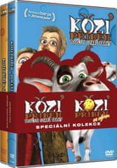 Kolekce Kozí příběh 1+2: Pověsti staré Prahy, Kozí příběh se sýrem (2DVD)   - DVD