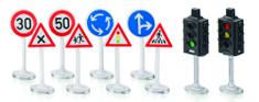 SIKU World - Semafory s dopravnými značkami