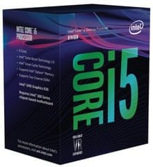 Intel procesor Core i5-8500 BOX, Coffee Lake