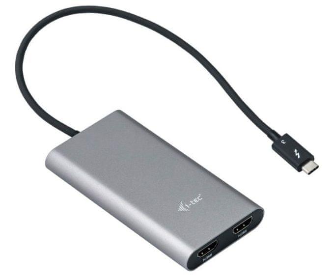 I-TEC Thunderbolt 3 Dual HDMI Adapter/60Hz TB3DUAL4KHDMI