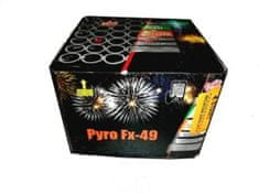Ohňostroj PYRO FX 49 ran