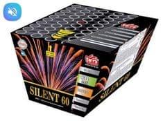 Tichý ohňostroj SILENT - 60 ran