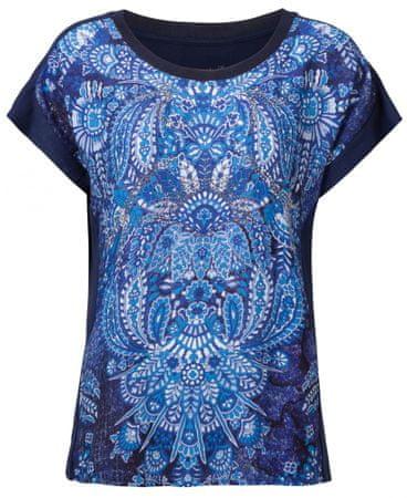 Desigual dámské tričko TS Navajos S tmavě modrá  81dbca4a267