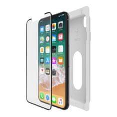 Belkin Temperované ochranné zakřivené sklo displeje pro iPhone X/Xs, s instal. rámečkem F8W867zzBLK