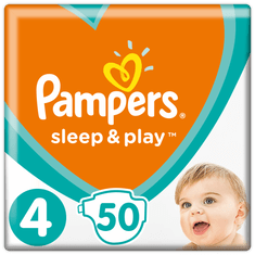 Pampers pleničke Sleep&Play Maxi (4), 7-18 kg, 50 kosov