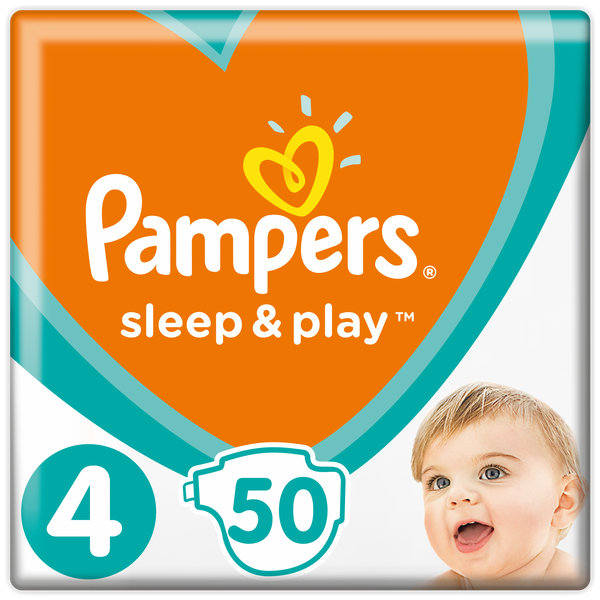 Pampers Pleny Sleep&Play 4 Maxi - 150 ks (3x50 ks)