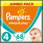 1 - Pampers Sleep & Play Jumbo Pack S4 68ks