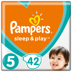 Pampers Sleep&Play Economy 5 Junior - 168 ks (4 x 42 ks)