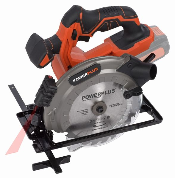 PowerPlus POWDP2520 Aku okružní pila 20V 165mm LI-ION (bez baterie) Dual Power