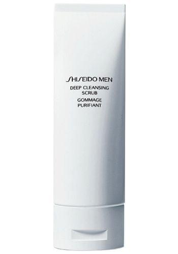Shiseido Hloubkově čisticí peeling pro muže MEN (Deep Cleansing Scrub) 125 ml